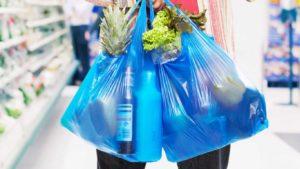 Пакет с продуктами — анекдоты про влюбленных