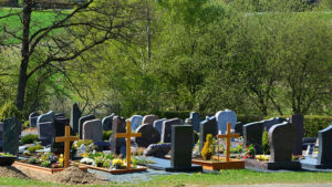 Сторож на кладбище — черный юмор | Aneknews.ru